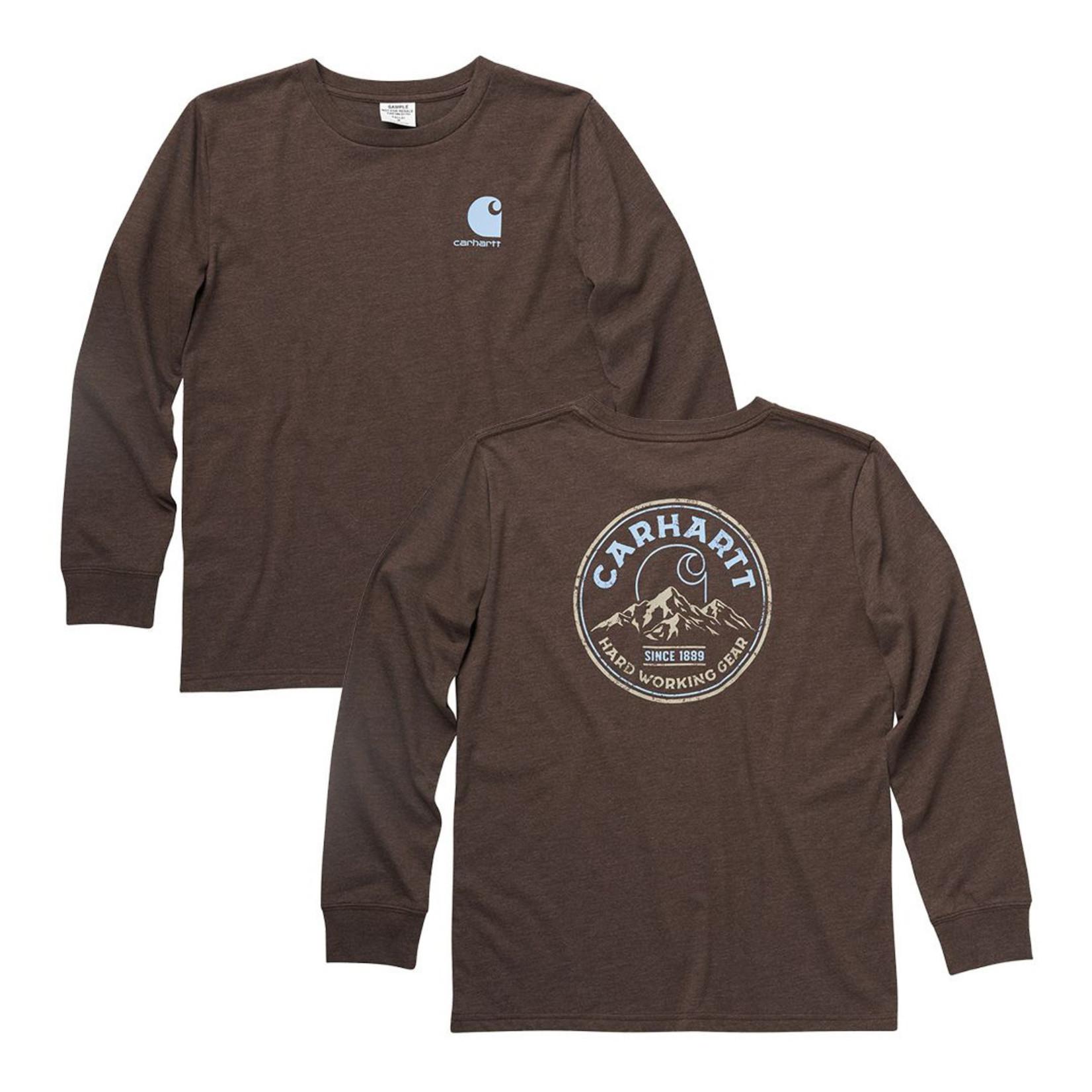Carhartt Carhartt Kids CA6188 Long-Sleeve Graphic T-Shirt