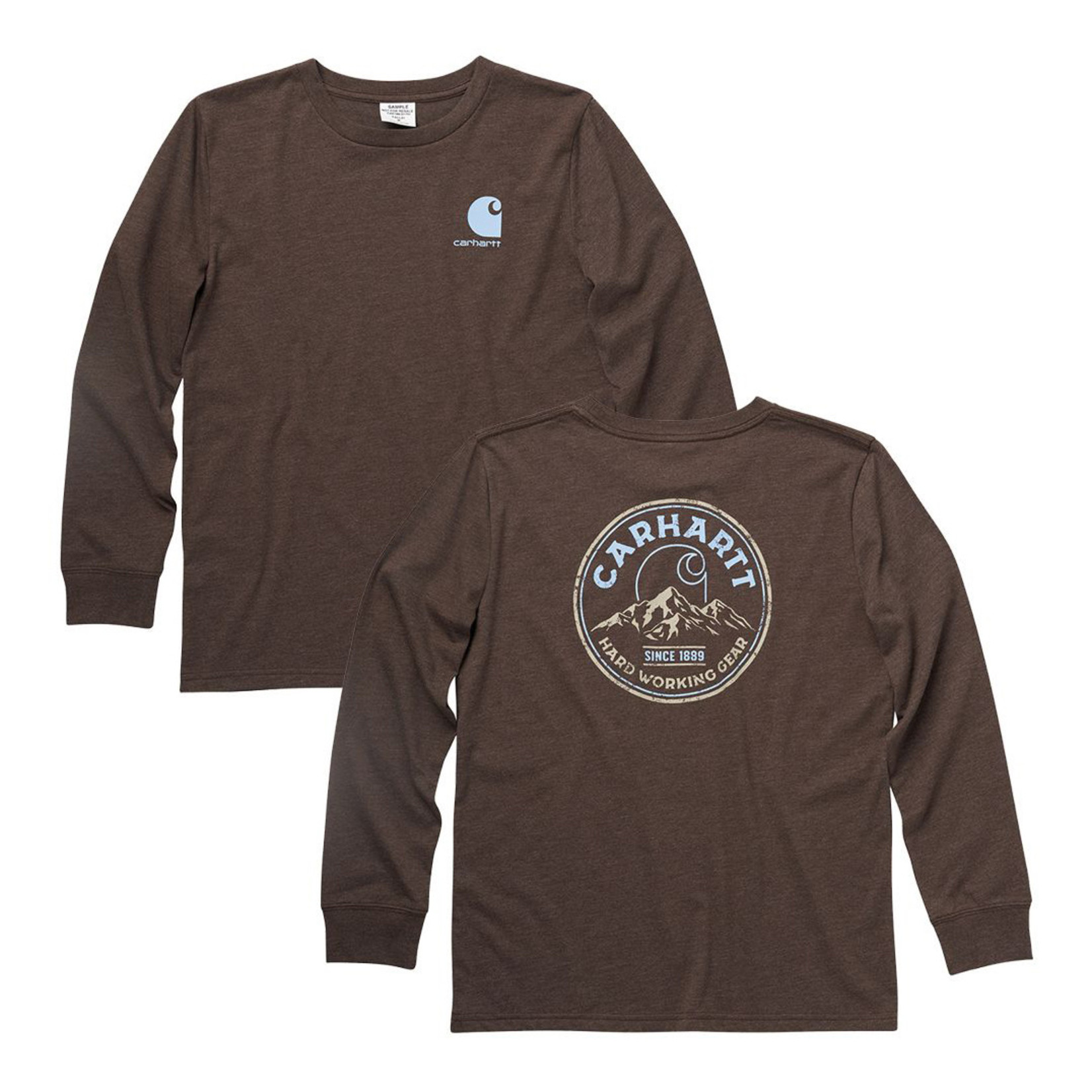Carhartt Carhartt Boys CA6188 Long-Sleeve Graphic T-Shirt