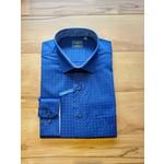 Leo Chevalier Leo Chevalier Longsleeve Sportshirt - Oxford Blue