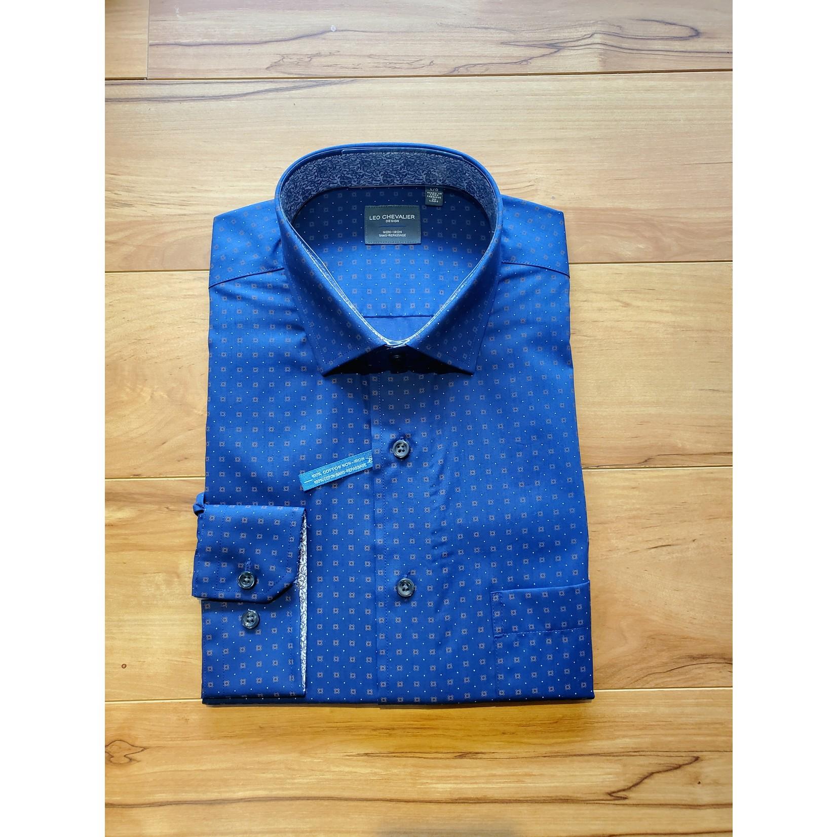Leo Chevalier Leo Chevalier 527450 Longsleeve Sportshirt - 1898 Oxford Blue