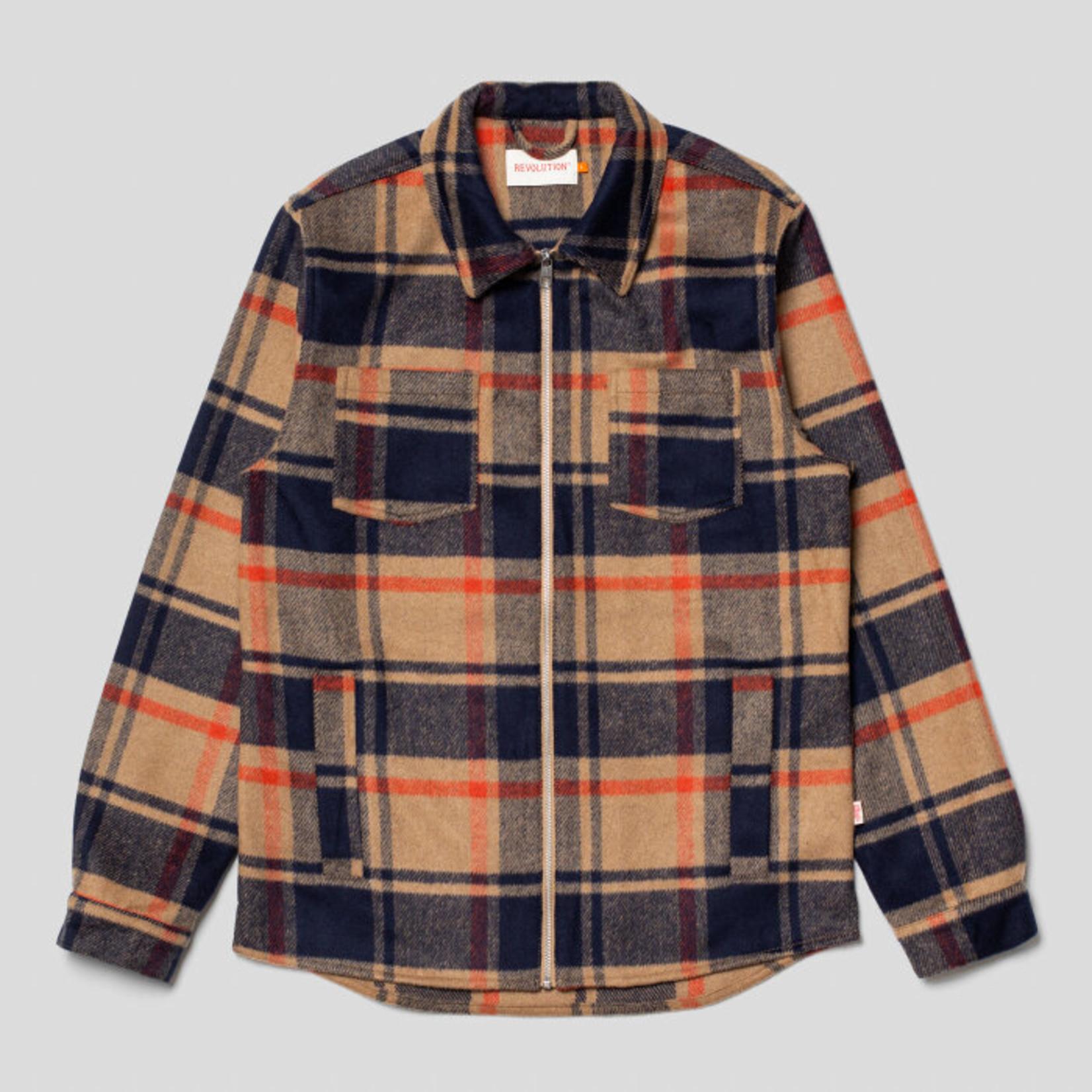 RVLT Revolution Revolution 3847 Zip Overshirt