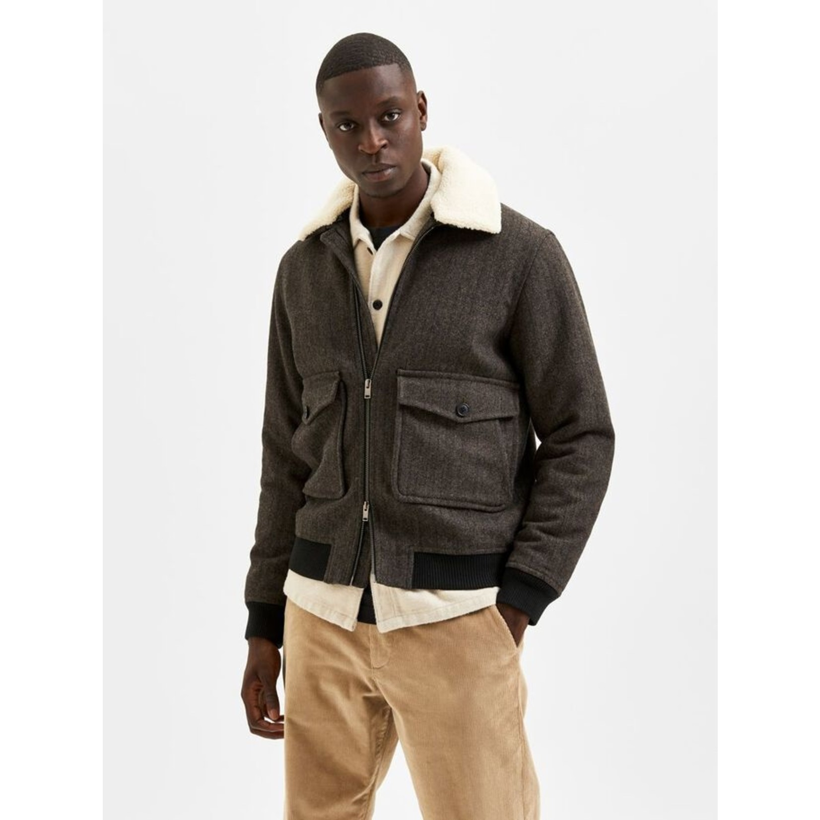 Selected Homme Selected Homme 16080375 Warwick Bomber