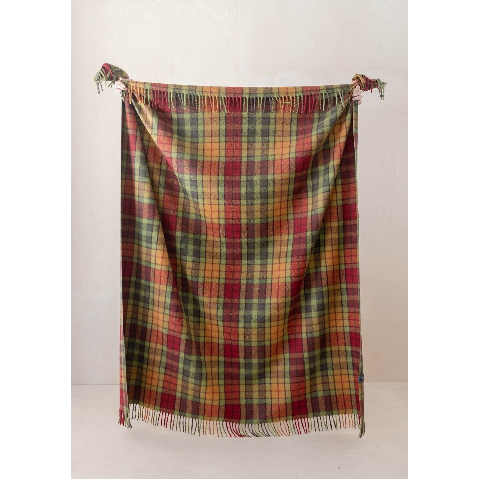 Aran Crafts Edinburgh 4812AUTB Wool Throw - Autumn Buchanan