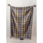 Aran Crafts Edinburgh Wool Throw - Natural Buchanan