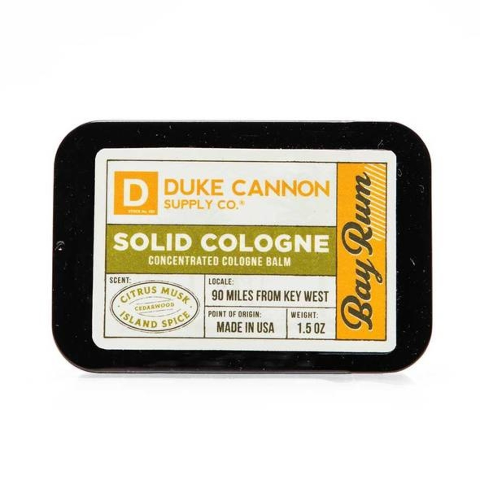 Duke Cannon Supply Co. Duke Cannon Special Edition Solid Cologne - Bay Rum