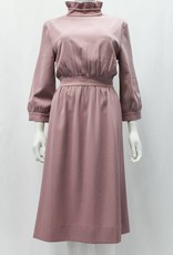 ZC Designs Mauve high collar dress