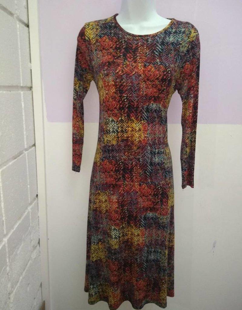 KMW Spice print tunic dress