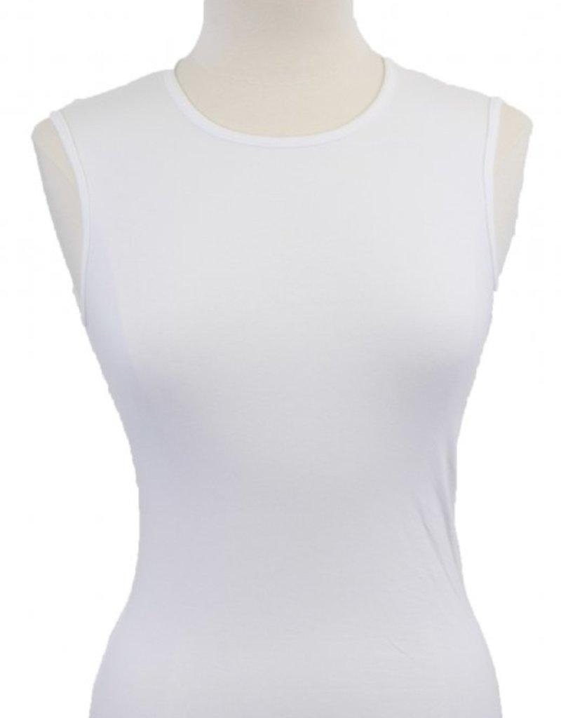KIKI RIKI Wide-neck CTN sleeveless