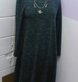Baby-O Heathered Knit swing dress