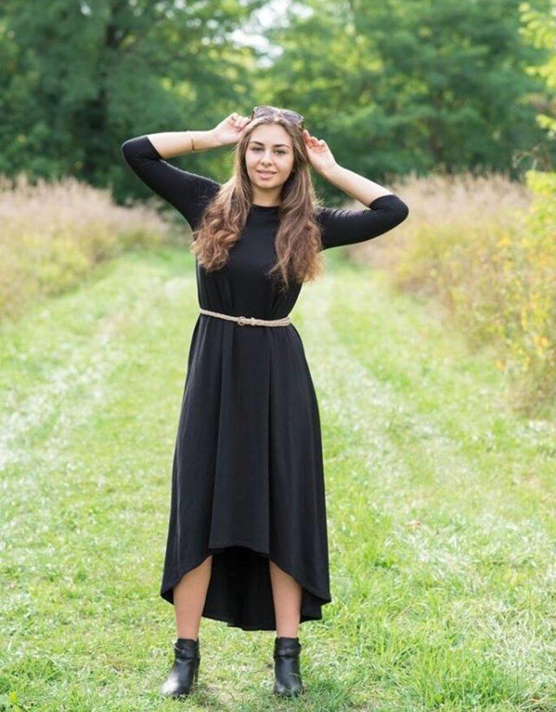 KMW Hi-Lo Maxi dress