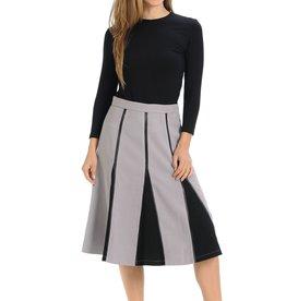 Ivee Suede Insert Skirt