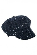 Something Special Glitter Newsboy cap