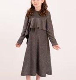 KMW Sparkle dress w/chest ruffle