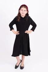 KMW Ruffle neck sparkle dress 1313