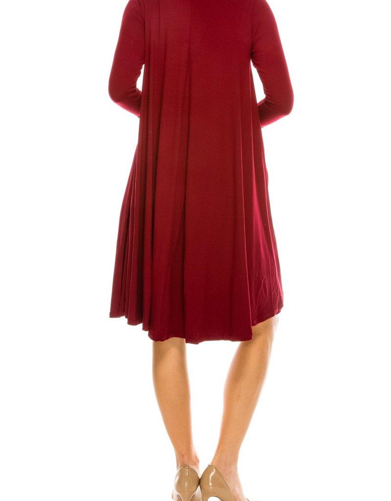 Chi Chi Swing dress w/pkts 3384