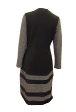 Chi Chi Black/silver 1147 dress w/pkts