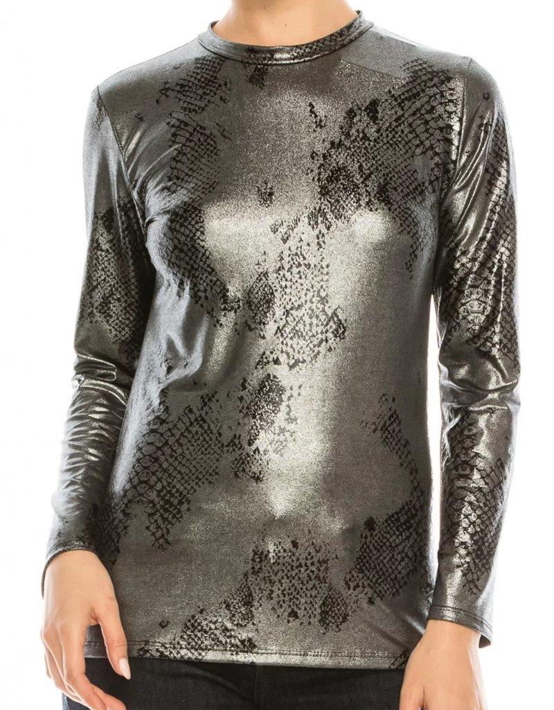 Chi Chi CC 9115 metallic blk/silver top