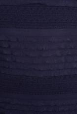 KMW A-Line Navy Wave Dress