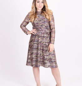 KMW Purple Metalic Everything Dress