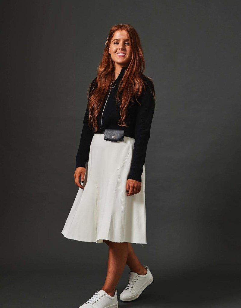 Modest Peoples Seamed Skirt