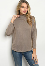 Ginger G Taupe Top