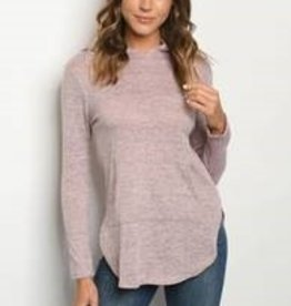 Ginger G Mauve Top