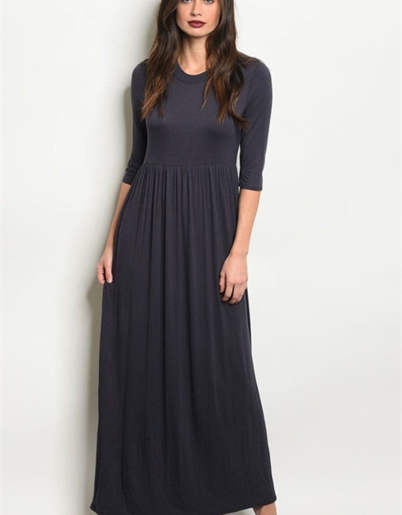Anabelle Charcoal Dress