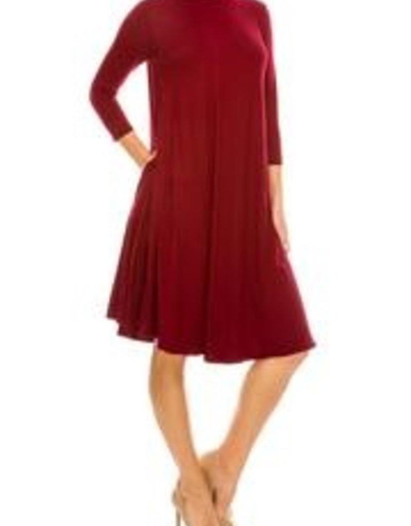 Chi Chi Swing dress w/pkts 3383