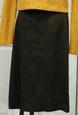 "Genux Millenium 27"" pencil skirt green/gold"