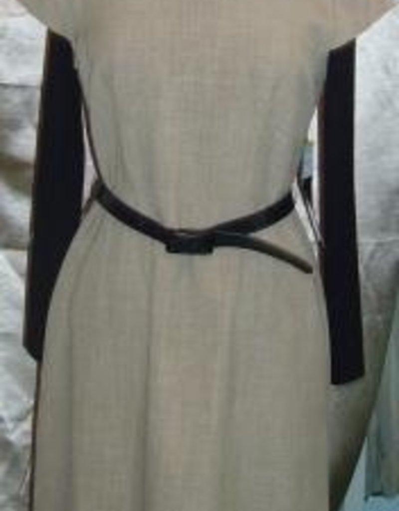 KSL Belted cap sleeve  w/button collar