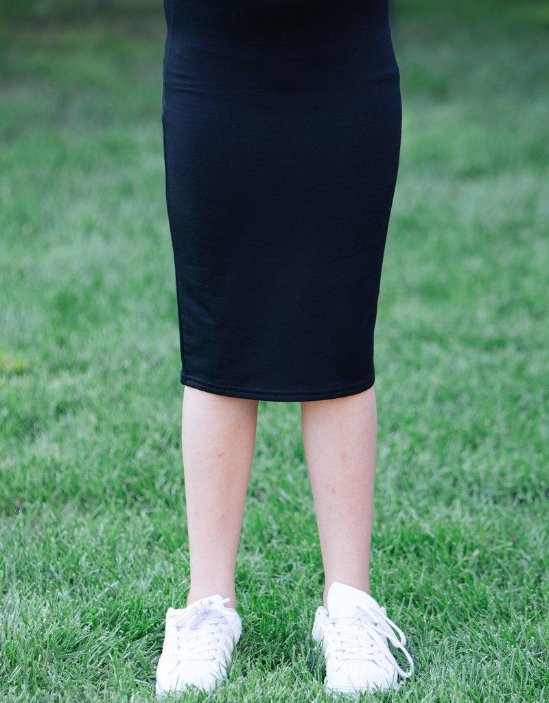 KMW Girls modal pencil skirt