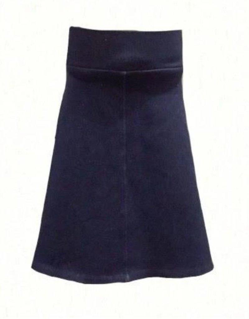 KMW Girls a-line soft denim skirt