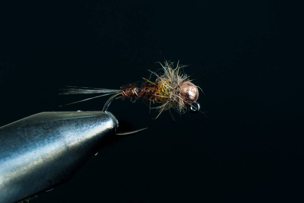 Hot Spot Pheasant Tail Jig
