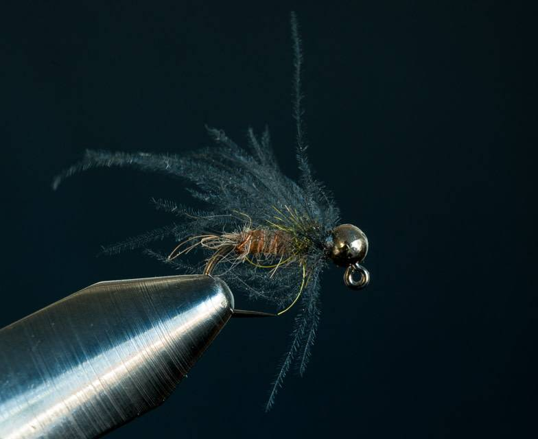 Jigged Caddis Pupa