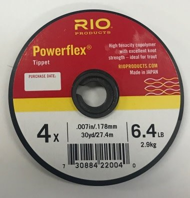Rio Powerflex Tippet 30yd Spool