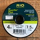 Rio Powerflex Plus Tippet 50yd Spool