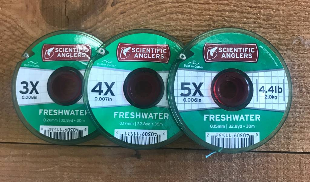 Scientific Angler Scientific Anglers Freshwater Tippet 30m Spool