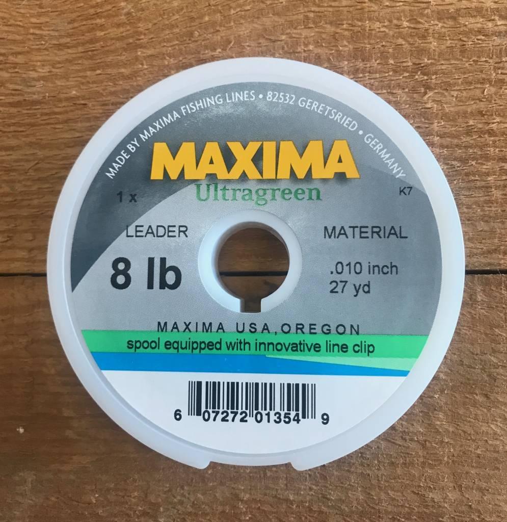 Maxima Ultra Green Tippet 27yd Spool