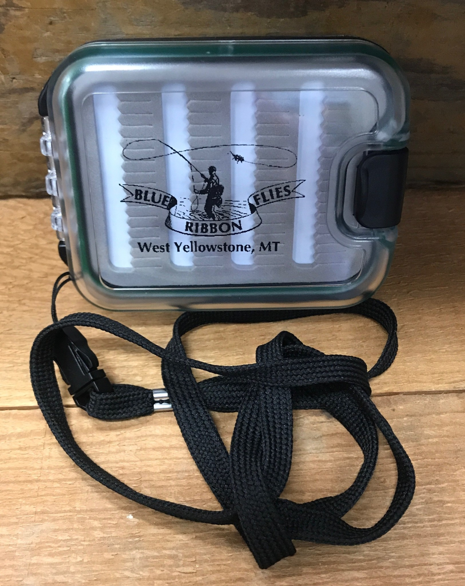 Blue Ribbon Waterproof Fly Boxes Extra Small w/Lanyard
