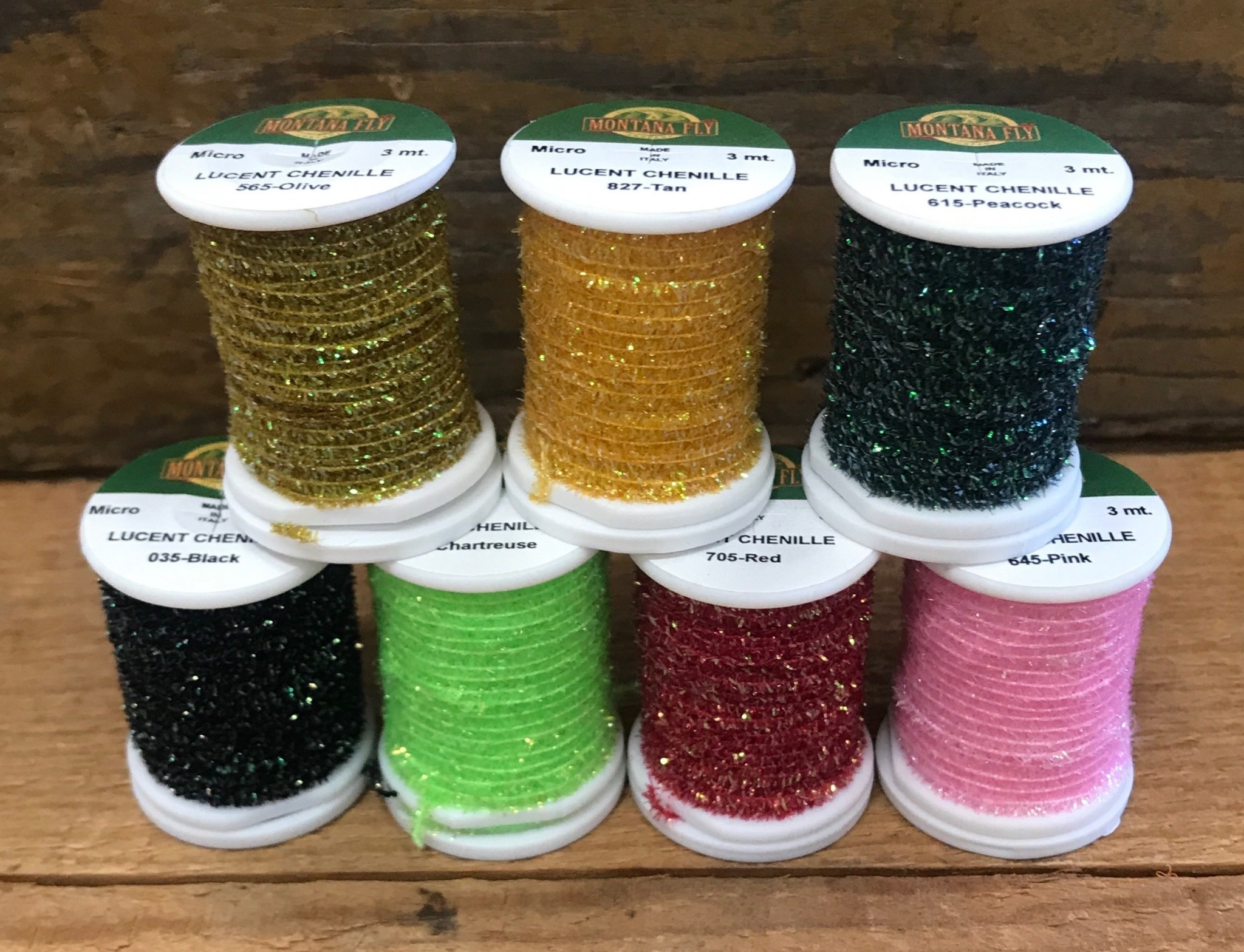 MFC MFC Micro Lucent Chenille Spooled