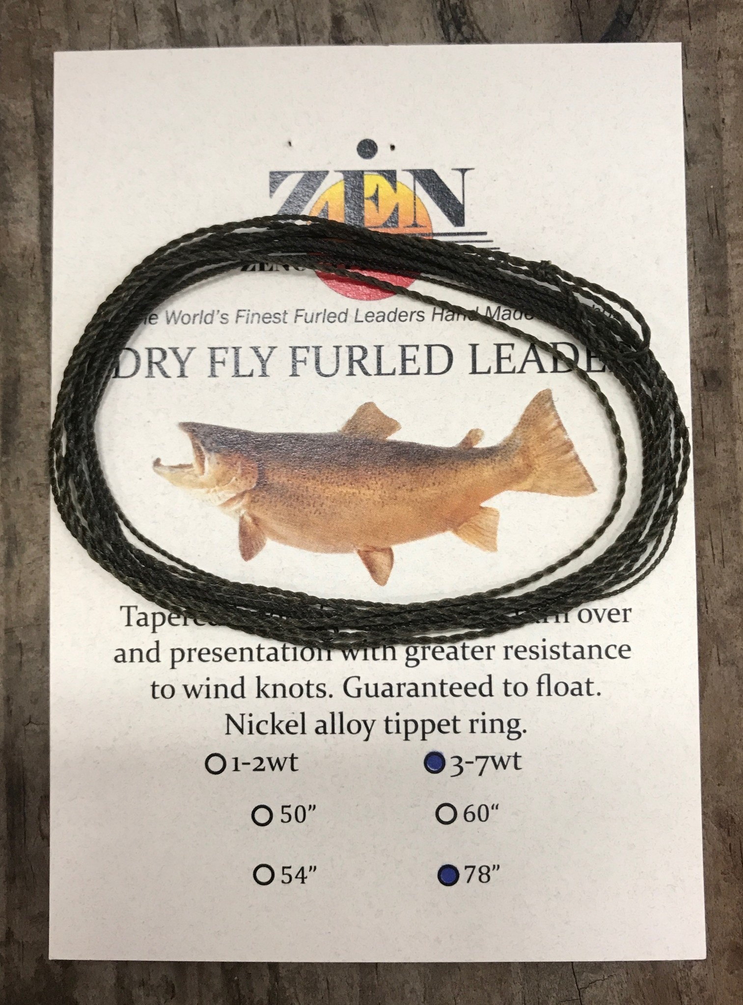 Zen Furled Dry Fly Leaders