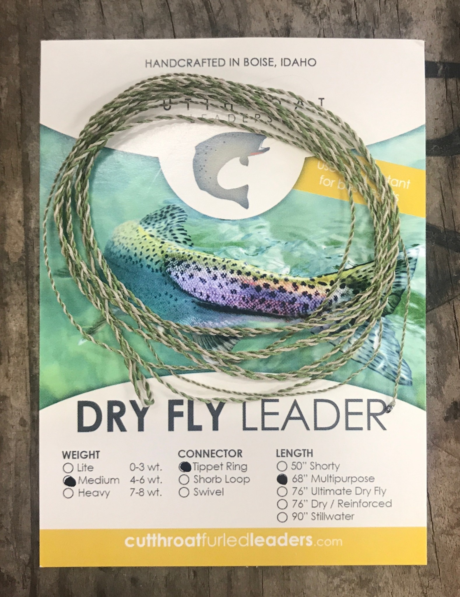Cutthroat Furled Dry Fly Leaders