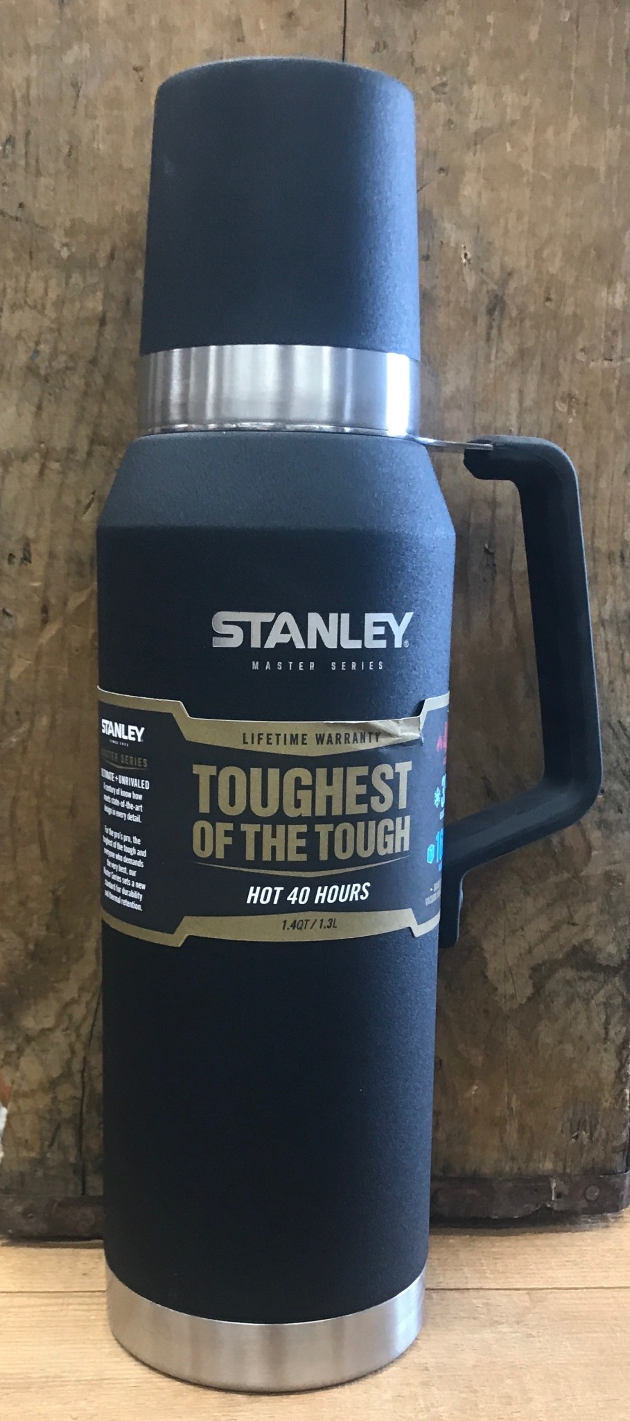 Stanley Classic Master Bottle Black 40% Off!!