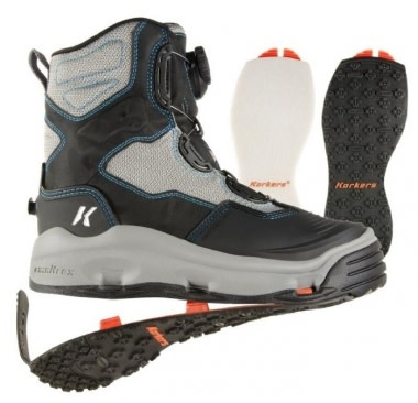 Korkers Women's Darkhorse Wading Boot Felt/Kling-On