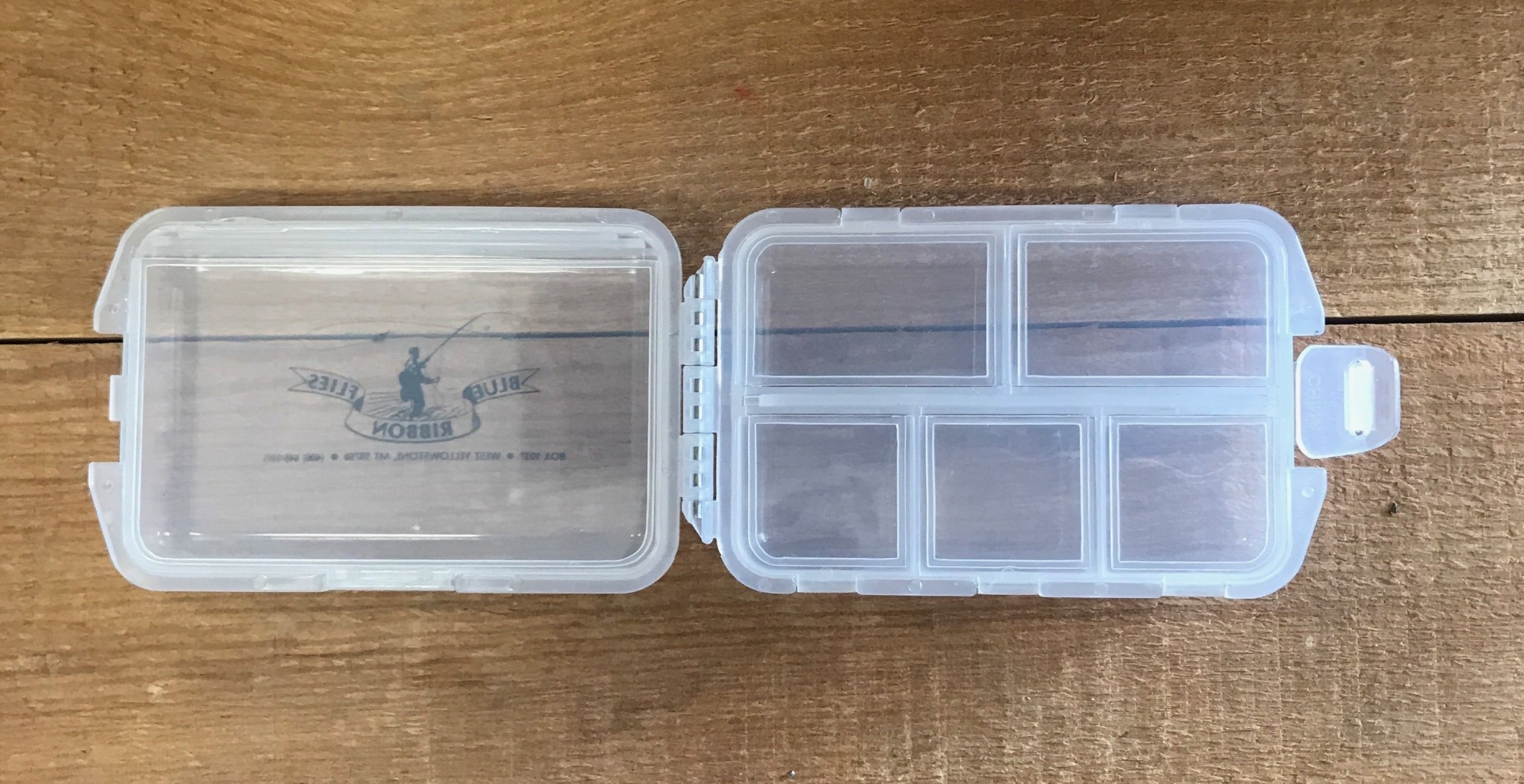 BRF Folding 6 Compartment Fly Box