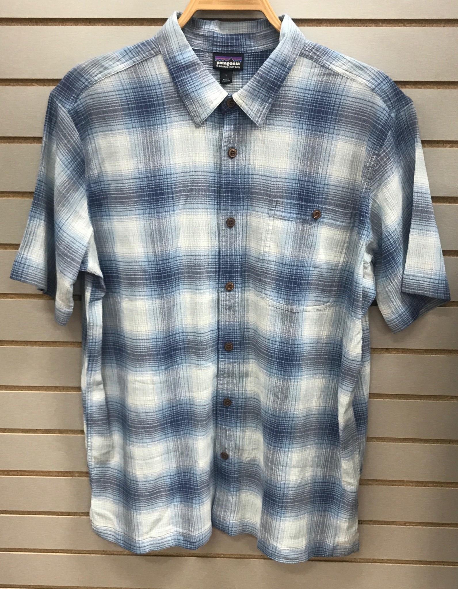 Patagonia Mens A/C Shirt Railroad Blue 50% Off!!