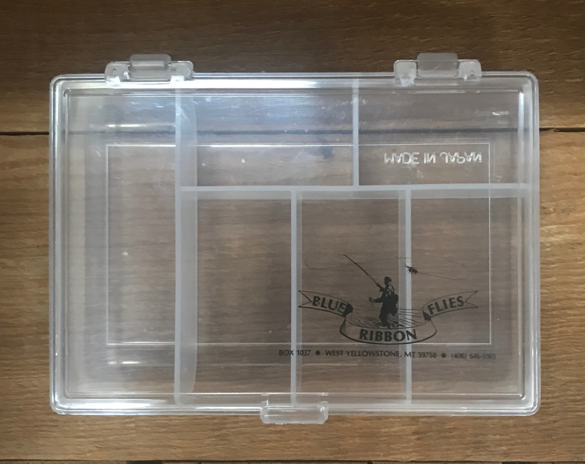 ASG Boxes Meiho 6 Compartment Utility Box