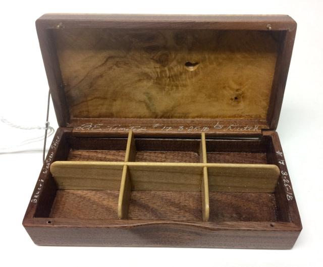 Dutch Box - B.E. Limited #17 - Western Spicebush and Walnut