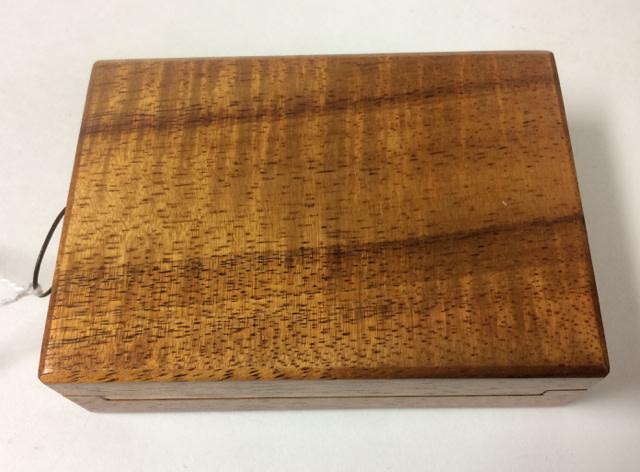 Dutch Box - Neal's Model #19 - Koa