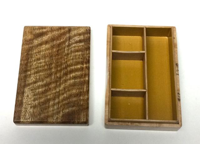 Dutch Box - Sandy's Model #17 - Mango & Birdseye Maple